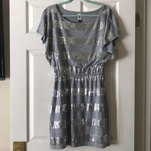 Grey and Silver Dress